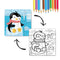 Dodo Colouring Puzzle 2 in 1 Penguin