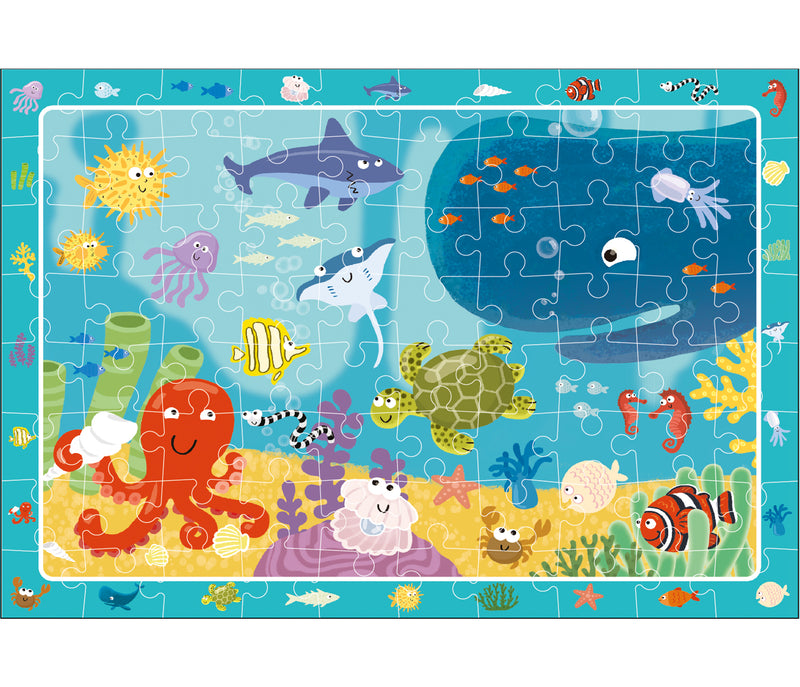 Dodo Observation Puzzle Underwater