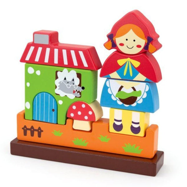 Edushape Red Riding Hood Magna Blocks