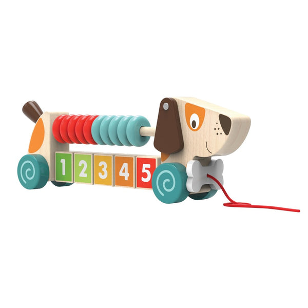 Edushape Counting Pull-A-Pup