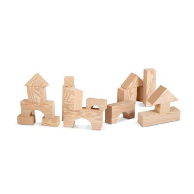 Edushape Big Wood-Like Foam Blocks