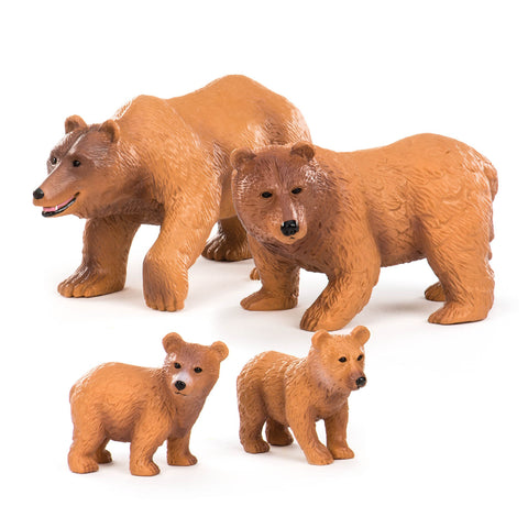 Terra Brown Bear Family
