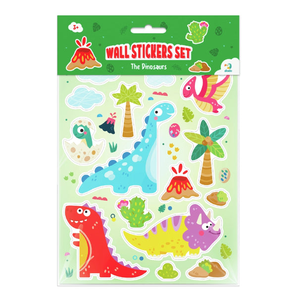 Dodo Wall Stickers Set The Dinosaurs