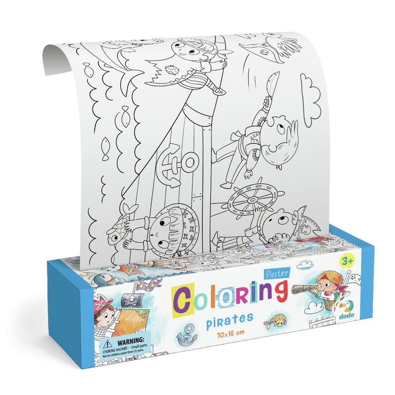 Dodo Colouring Poster Pirates