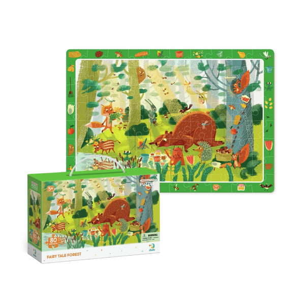 Dodo Observation Puzzle Fairy Tale Forest