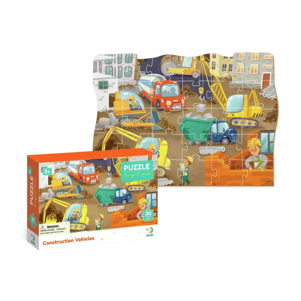 Dodo Puzzle Construction Vehicles