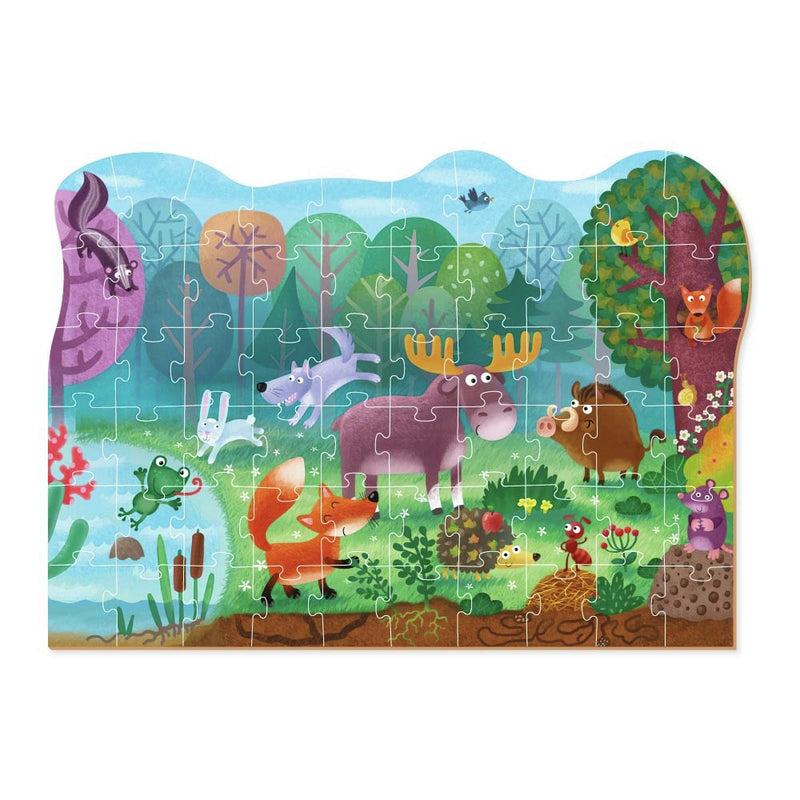 Dodo Puzzle Wonder Forest Animals