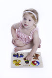 Doron Layeled Toys Large Peg Puzzle