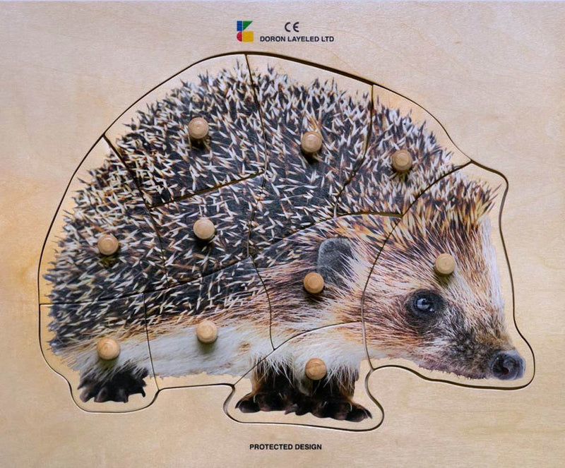 Doron Layeled Hedgehog Puzzle