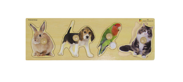 Doron Layeled Giant Pets Peg Puzzle