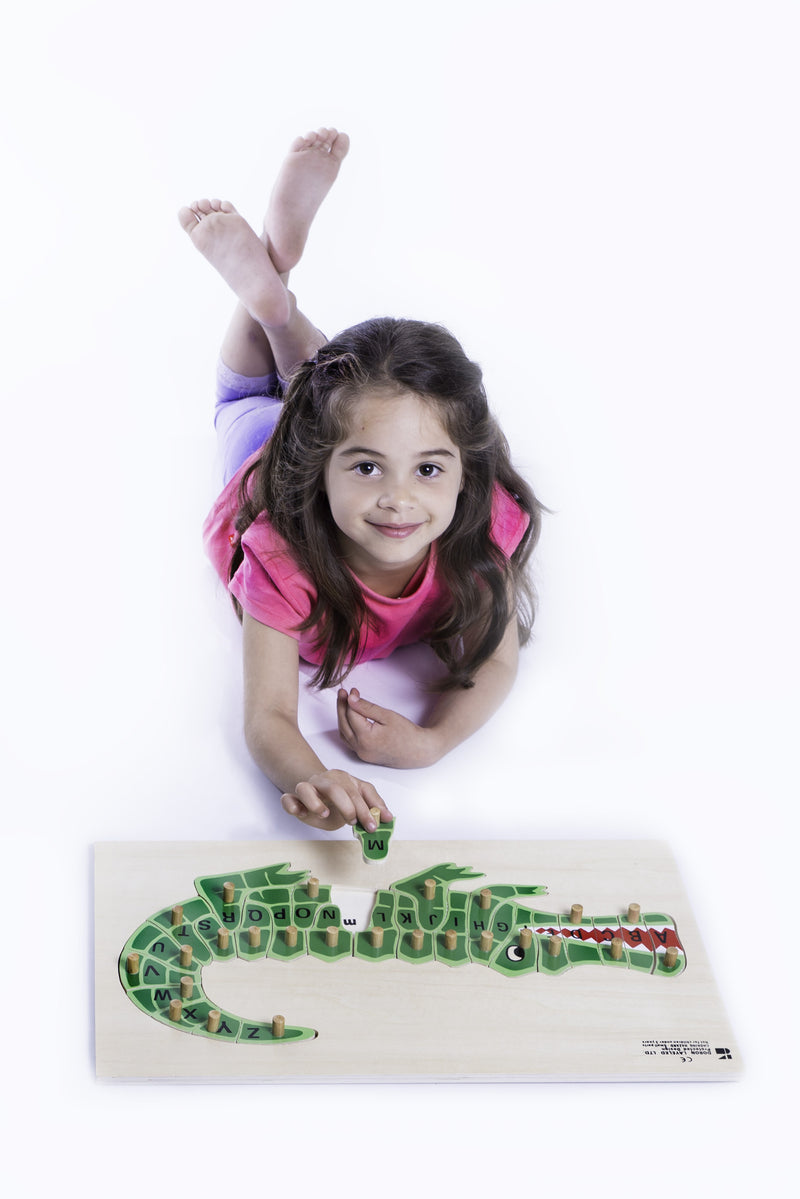 Doron Layeled ABC Alligator Puzzle