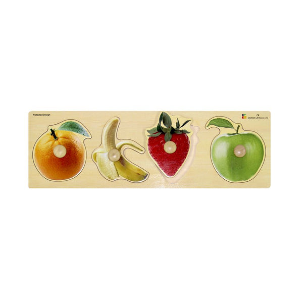 Doron Layeled Fruit Giant Peg Puzzle