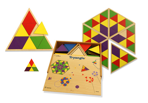 Doron Layeled Try-Angle Puzzle