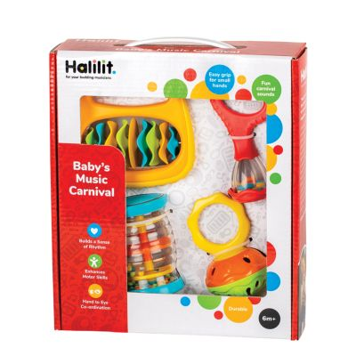 Halilit Toddler's Music Carnival Gift Set (Colours Vary)