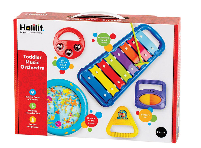 Halilit Toddler Music Orchestra Gift Set (Colours Vary)