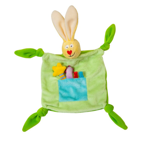 Taf Toys Rabbit Blankie (Colours Vary)