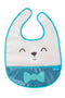 Taf Toys Crumb Catcher Soft and Comfortable Bib Set - Pack of 3