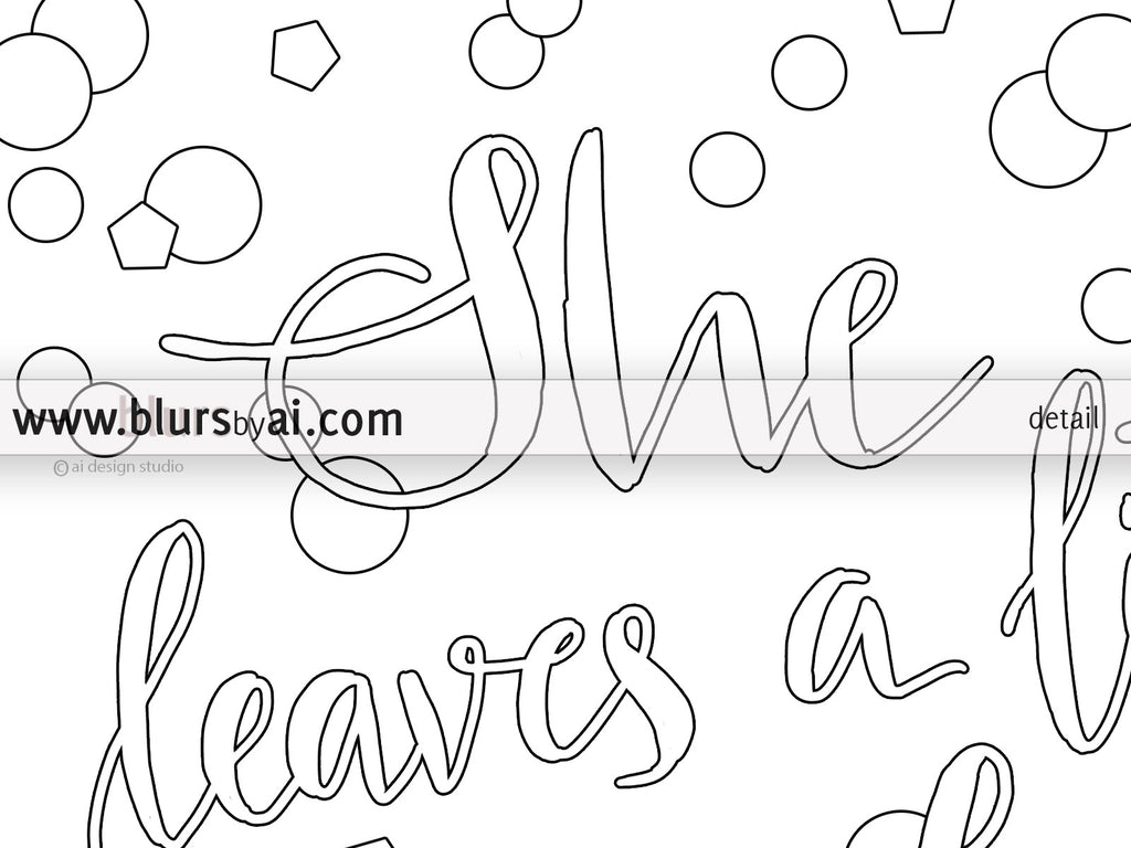 Pack of printable coloring pages: Inspirational quotes