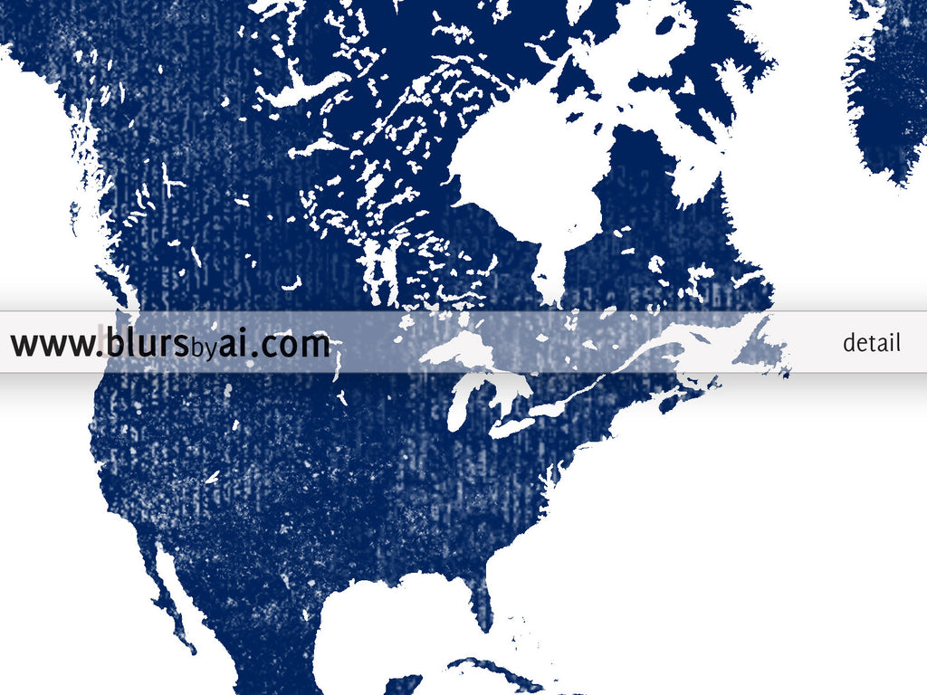 Navy blue world map printable art, Adventure Awaits, in distressed vintage style