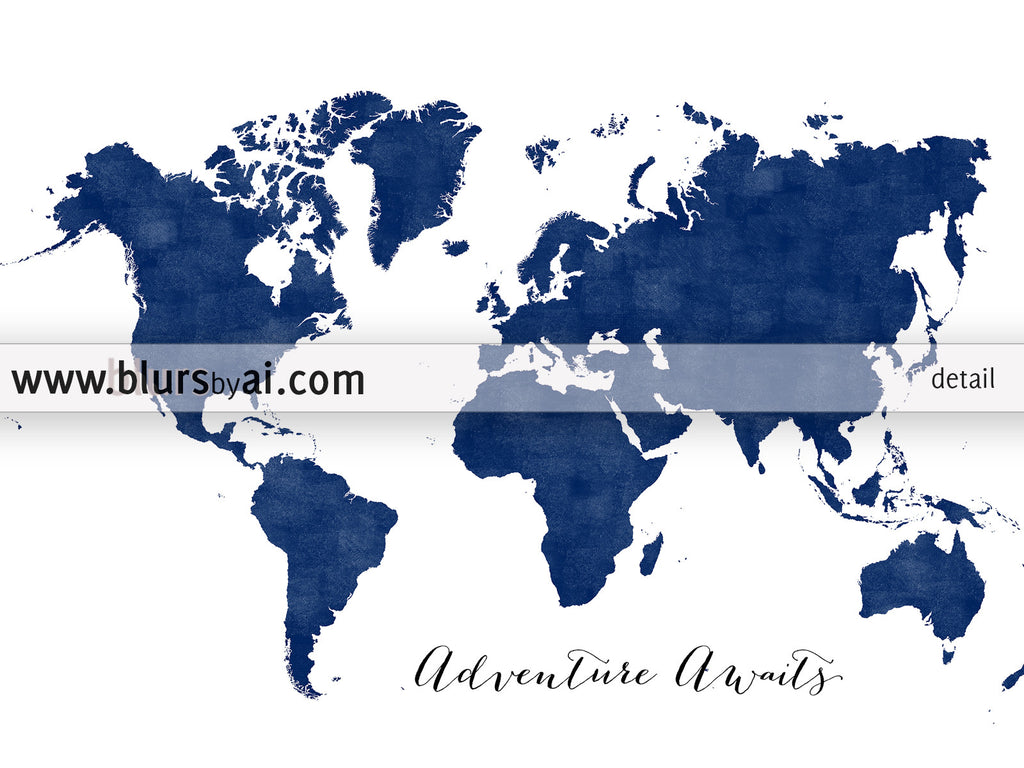 Navy blue world map printable art adventure awaits in distressed navy blue world map printable art adventure awaits in distressed vintage style large gumiabroncs Image collections