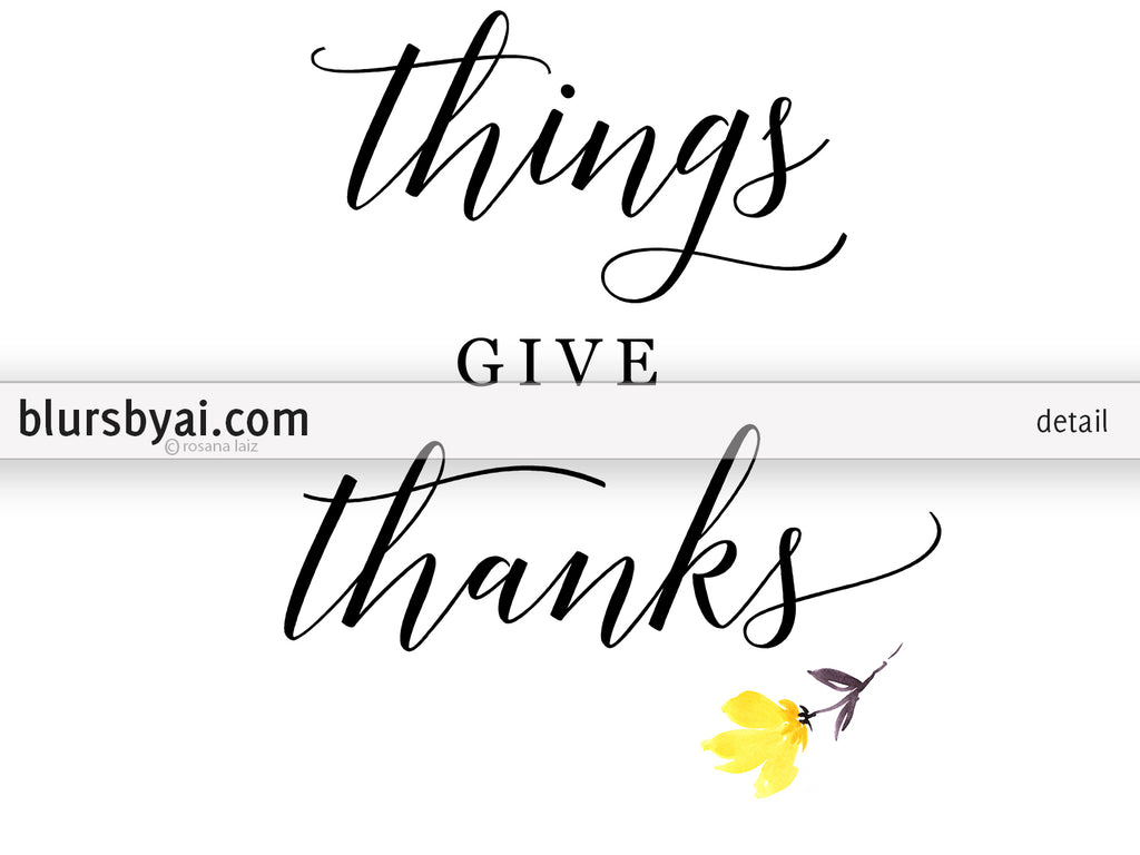 image relating to Gather Printable known as Printable Thanksgiving decoration: floral obtain signs or symptoms, fixed of 3
