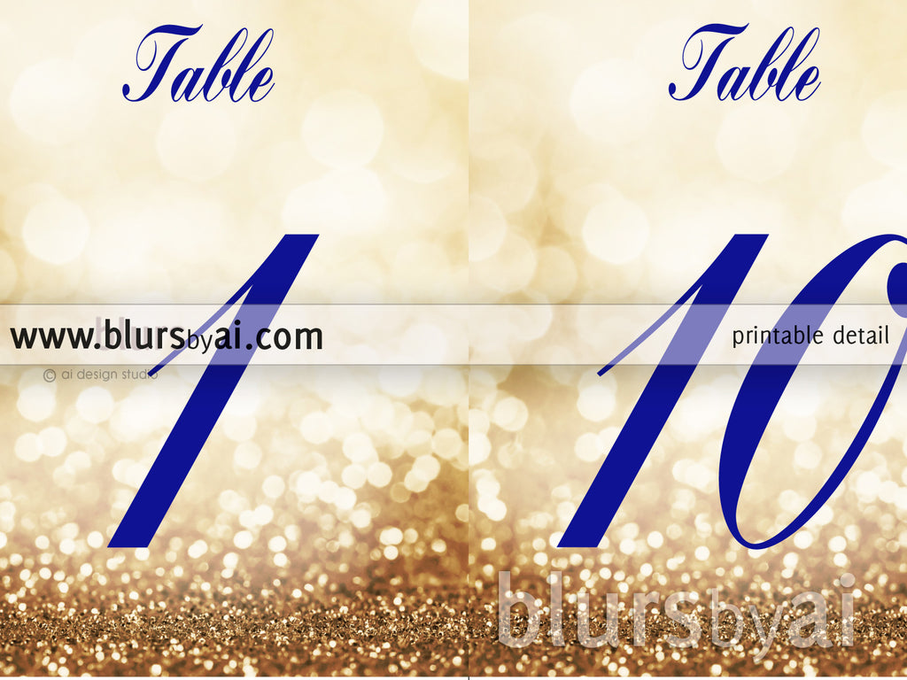 photo regarding Printable Table Numbers named 5x7\