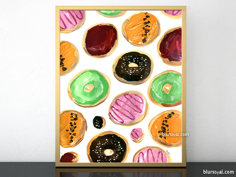 Lots of donuts printable home decor, #1 - Personal use