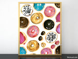 Lots of donuts printable home decor, #2