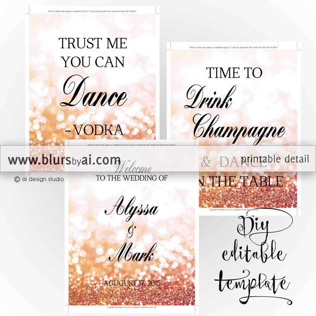 8x10 diy printable sign templates for word make your own wedding 8x10 diy printable sign templates for word make your own wedding signs in junglespirit Images