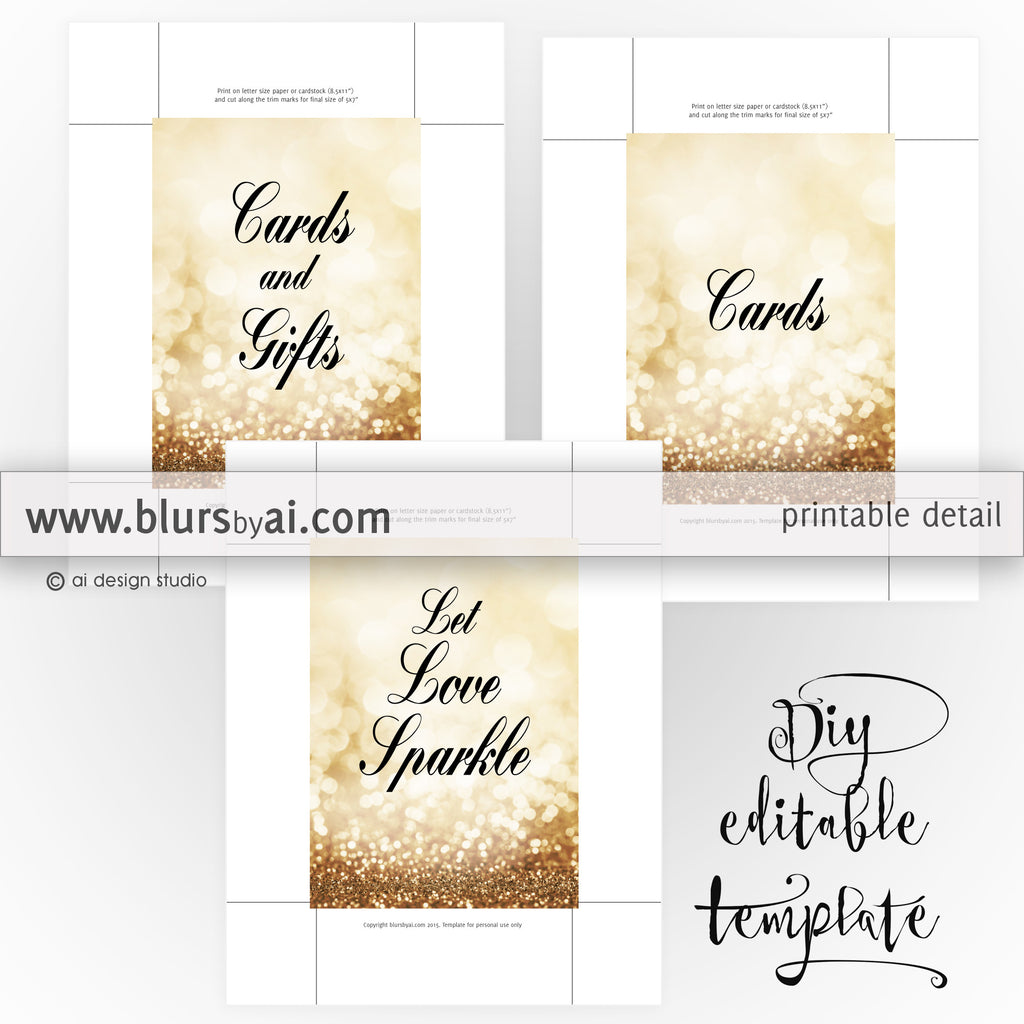 5x7 diy printable sign templates for word make your own wedding
