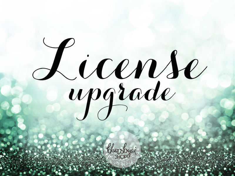 Additional licenses for clipart