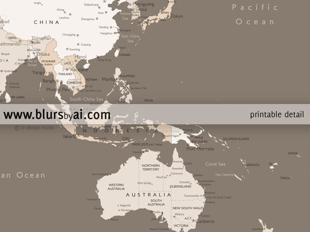 World map without cities picture ideas references world map without cities large printable world map with cities as a set of three panels gumiabroncs Choice Image