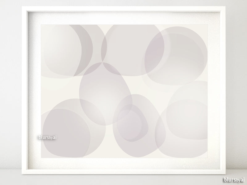 "Printable art: soft abstract shapes, ""Valeria"""