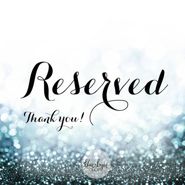 Reserved listing for Artisan - Custom order for Victoria