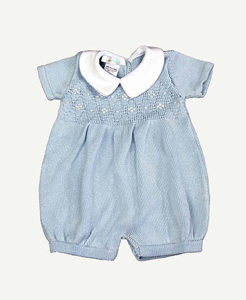 Light Blue One Piece #1 - 3mo.