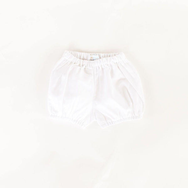 White Pique Diaper Cover - Toddler Size