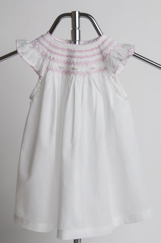 Smocked Collar Dress