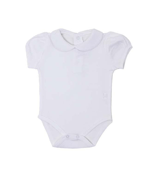Round Collar Short Sleeve Onesie