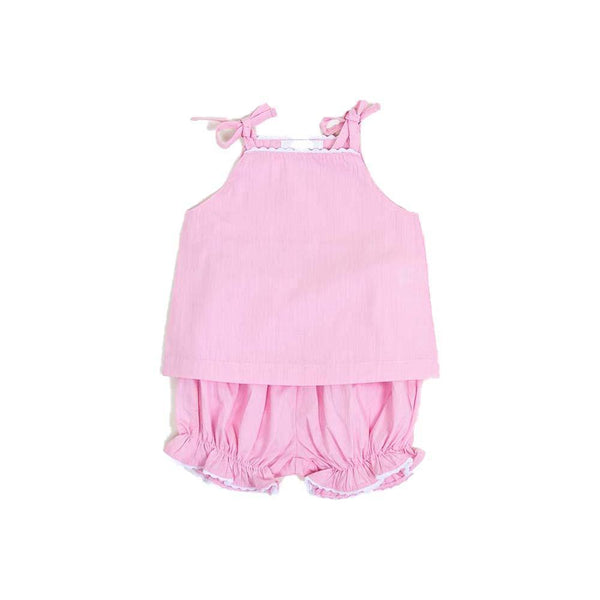 Pink Ric Rac Two Piece - Toddler Size