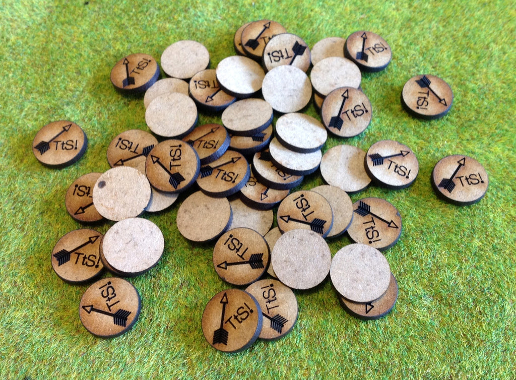 Chits - additional ammunition markers