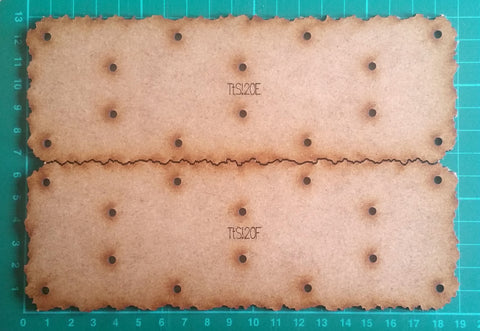 Bat Bases- 20cm grid, full-size bases