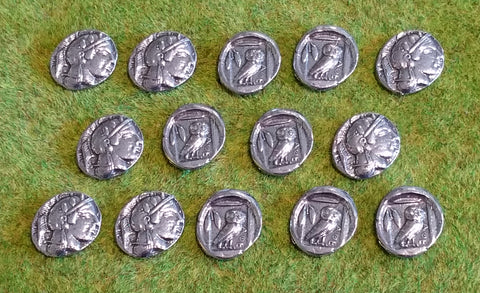 Victory Medals - replica Athenian silver didrachms