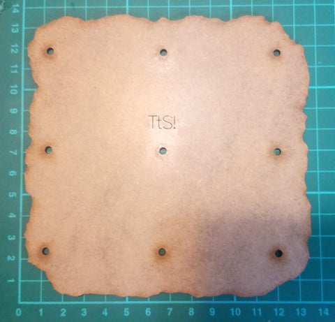 Bat Bases- 15cm grid, terrain/camp size (2)