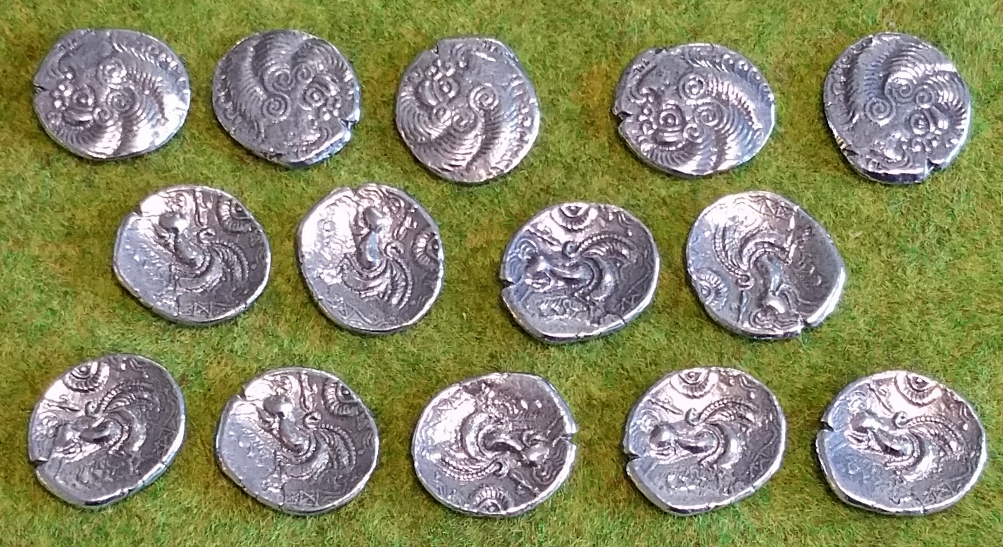 Armorican silver staters!