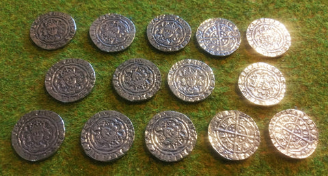 Victory Medals - replica Henry VI half groat