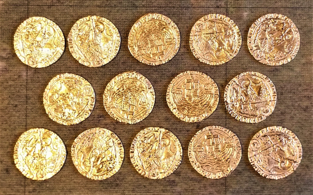Victory Medals - replica Richard III Gold Angels