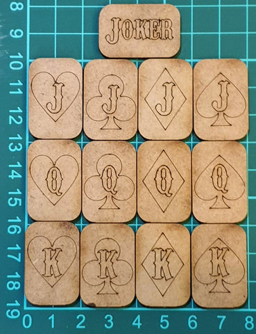 Stratagem Tokens - Natural MDF