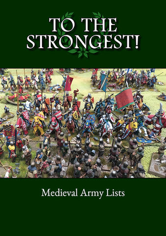 TtS! Medieval Army List eBook