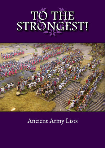 TtS! Ancient Army List eBook