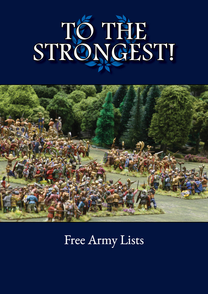 TtS! Free Army List eBook